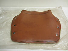 "Italian Reproduction Lambretta Model ""B"" Tan Singe Saddle Seat Cover *New"