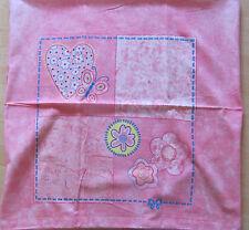 Kinder Bettwäsche Kinderbettwäsche Biber rosa Schmetterling Herz Blumen 135x200