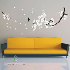 Butterfly Flower Tree Wall Art Stickers Nursery Kids Wall Sticker Decals--PD165.
