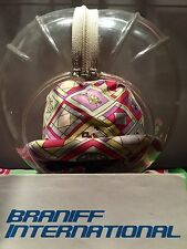 BRANIFF AIRLINES Emilio Pucci Stewardess Uniform Space Bubble  Helmet  ~ 1966