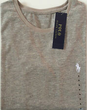 Ladies Ralph Lauren Crew Neck Long Sleeve T-Shirt Grey Melange - Small.
