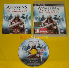 ASSASSIN'S CREED BROTHERHOOD Ps3 Versione Italiana 1ª Edizione »»»»» COMPLETO