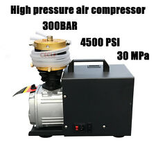 PCP Electric Air Compressor for Airgun Paintball Refilling High Pressure 300Bar