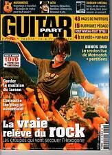 """GUITAR PART #158 """"Deportivo,Santana,Rock Français"""" (REVUE+DVD)"""