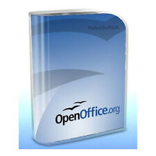 Open OFFICE 2013 Word Processor Spreadsheets Compatible With Microsoft Windows