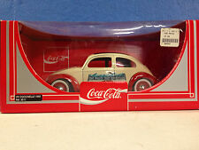 COCA COLA The Love Bug WHITE VW Beetle Bug 1:18 Diecast