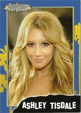 "Ashley Tisdale.  POPCARDZ #21 Trading Card. ""Hair School Musical"" & ""Hellcats"""