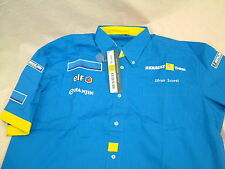 PUMA F1 RENAULT TEAM SHIRT SILVAN SCOTTI NEW LARGE ADVERT COVER UP ITEM