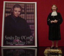 SUPREME COURT JUSTICE SANDRA DAY O'CONNOR FIGURINE - ADD TO YOUR MARX COLLECTION