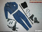 1/6 Dreamer female outfit Figure Weapons handcuffs Clothing cowboy shirt toys