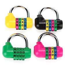 Practical 4 Digit Secure Combination Lock Password Gym Padlock