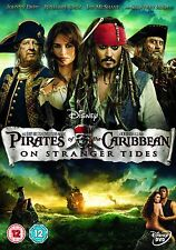Pirates Of The Caribbean - On Stranger Tides (DVD, 2011)  Johnny Depp, Rob