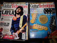 Le tecniche per chitarra 6 xmagazines NO CD 'S 2005 GIU & MAR 2006 & Jan + MOLLA + APR 2011&nov2013