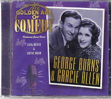 Burns & Allen 'THE GOLDEN AGE OF COMEDY' CD New/Sealed - Castle Pulse