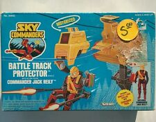 Vintage Sky commander battle track protector Commander Jack reily action figures