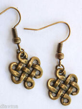 Bronze Celtic Knot EARRINGS Jewellery