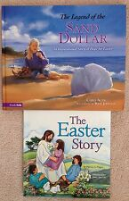 Lot 2 Religious Easter books: The Legend of the Sand Dollar Inspirational Hope