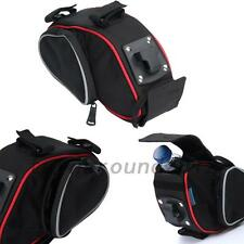 Portable Cycling Bicycle Saddle Bag Pannier Folding Bike Seat Bag Tail Storage