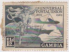 (RL13) 1949 Kenya/Tanganyika/Uganda set of 4 UPU stamps