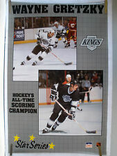 RARE WAYNE GRETZKY KINGS 1989 VINTAGE ORIGINAL NHL STARLINE HOCKEY POSTER