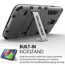 Galaxy S5 Case, [Galaxy S5 Screen Protector][STAND FEATURE]Slim Shockproof Cover
