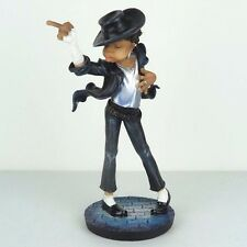 "Michael Jackson Dancing w/ The Finger Move Caricature Figurine Miniature 9""H New"