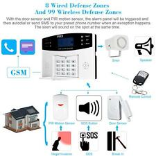 Wifi GSM SMS Home Burglar Security Alarm System Remote Control 433MHz US EM27