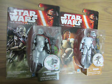 STAR WARS EP7 THE FORCE AWAKENS CAPTAIN PHASMA & FINN ( FN-2187 )