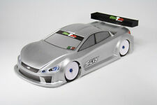 MonTech 015-013 1/10 RC On Road Touring Car Silvy 190mm Body Set For Tamiya/HPI