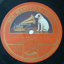 """78rpm 12"""" THEODOR CHALIAPINE how the king went to war / still in the forest"""