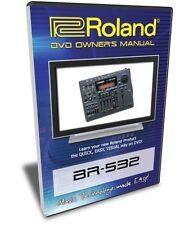 Roland (Boss) BR-532 DVD Video Training Tutorial Help