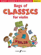 Bags of Classics for Violin Classical Instrumental Solo SONGS FABER Music BOOK