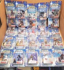 Lot of 25 Star Wars Attack of the Clones 2002 Action Figure Collection #1 to #25
