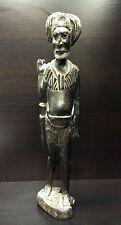 Art africain- statue d'un guerrier