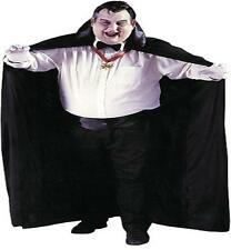 "ADULT 72"" CAPE COUNT DRACULA VAMPIRE COSTUME DRESS XXL FW9055"