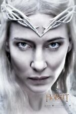 The Hobbit poster - Lord Of The Rings movie poster - Cate Blanchett poster