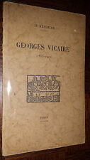 GEORGES VICAIRE - In Mémoriam - 1947 - Bibliophilie