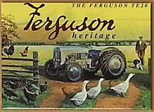 Kühlschrankmagnet Massey Ferguson Heritage TE20    (og)