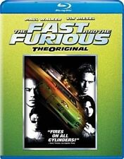 THE FAST AND THE FURIOUS NEW BLU RAY DISC MOVIE FILM CARS PAUL WALKER VIN DIESEL