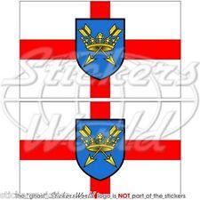 SUFFOLK Bandiera Anglia Orientale Ipswich Inglese Adesivi in Vinile Sticker