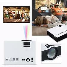 2000lumens 1080P HD LED Mini Home Multimediale Proiettore HDMI VGA Play USB SD