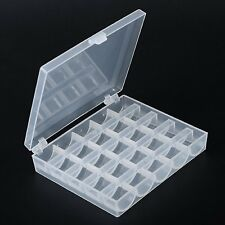 25 Compartments Plastic Storage Case Box For Nail Art Tips Bead Craft Finding