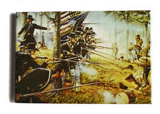 American Civil War ACW Battle Of Gettysburg Dale Gallon Art Magnet Final Glory