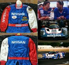 Original race used suit 1989 Mark Blundell Nissan R89C