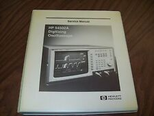 HP 54502A Digitizing Oscilloscope Service Manual.