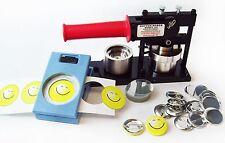 """Tecre Button Maker Kit 1.5"""" 1-1/2 Inch Machine,Button Boy Punch,500 Button Parts"""