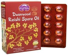Dragon Herbs Reishi Spore Oil 30 Softgels ( 500 mg per Selfgel)