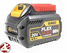 New DeWALT DCB606 20V 60V MAX FLEXVOLT Li-Ion 6.0 Ah cordless Battery Pack