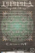 """""""LOFOFORA (CASH LIVE 1999)"""" Affiche originale 1999"""