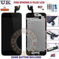 "iPhone 6 Plus 5.5"" Replacement Digitizer LCD Touch Screen & Home Button Camera"